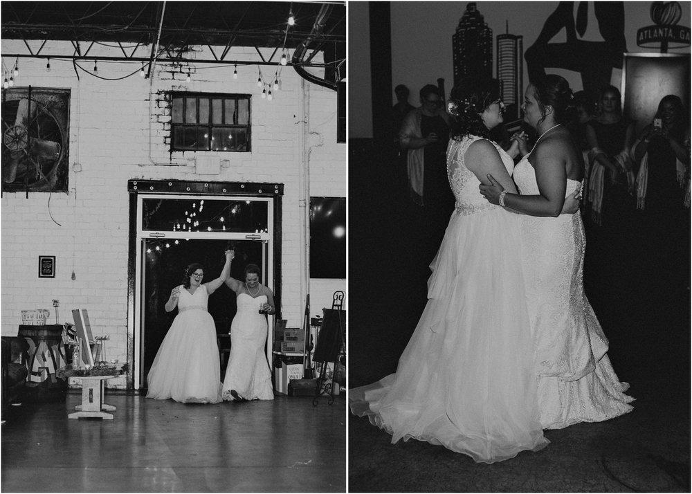 108 - Atlanta wedding photographer - Same sex wedding - wedding dress - details - ceremony - reception - bridal party - two brides. Aline Marin Photography .jpg.JPG