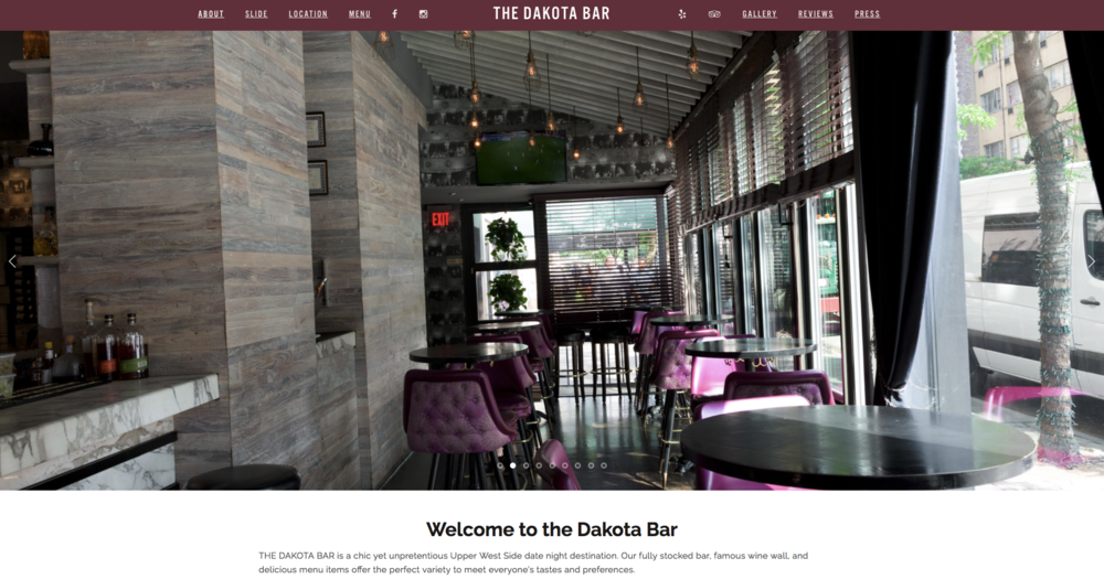 The Dakota Bar -