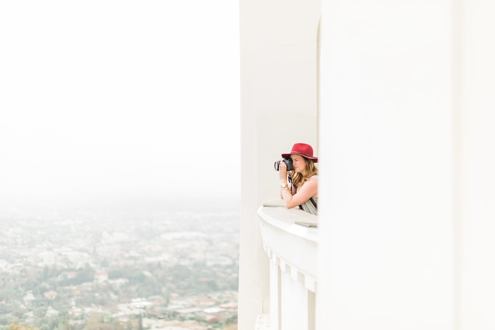 Jessica Rieke at the Griffith Observatory. This amazing shot and series captured by the talented Mink Photography