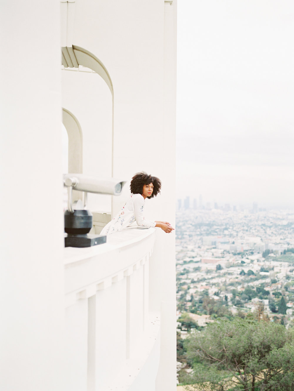 Film captured by the talented Jessica of  J.Lee Photos  at Griffith Observatory in LA