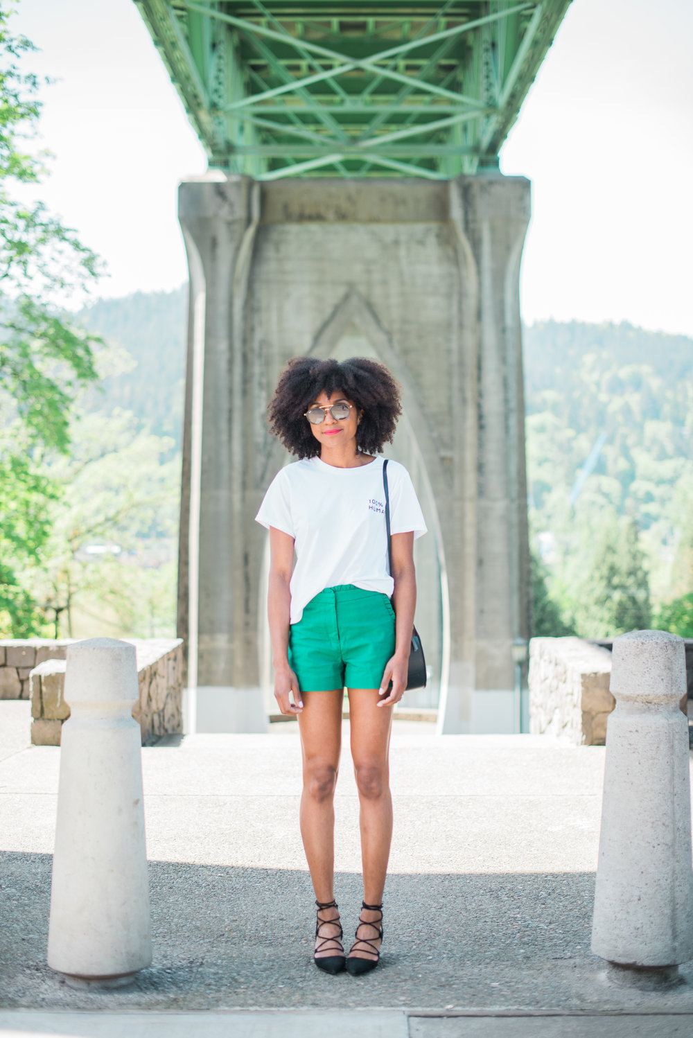 Tee: Everlane     Shorts: JCrew