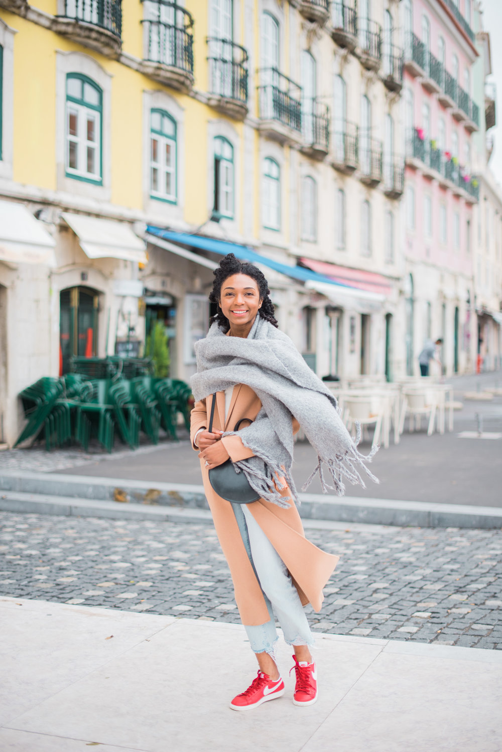 Feeling all the happy vibes in Lisbon, Portugal     Photography:  Stephanie Mballo