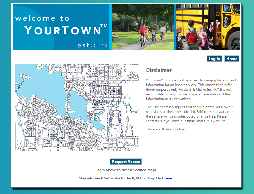 YourTown GIS Demo Account