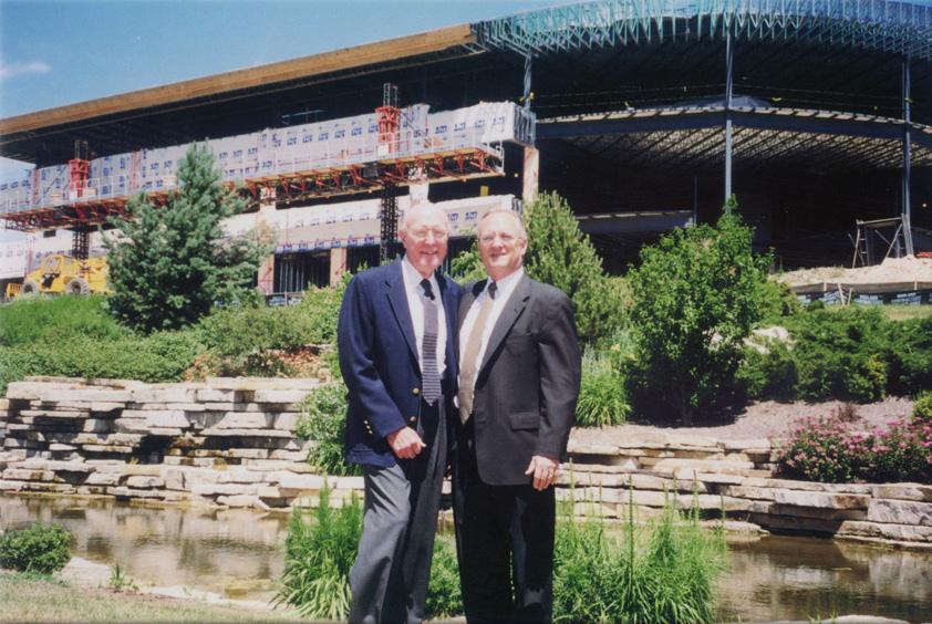 65. John and Bill, new building.jpg