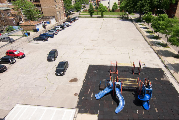Wadsworth Elementary School in Chicago, IL - Before