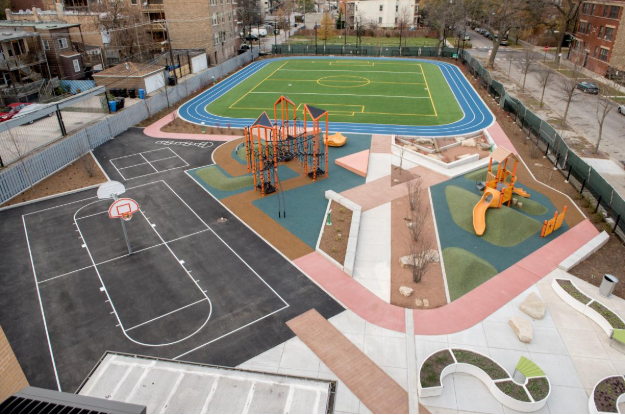Wadsworth Elementary School in Chicago, IL - After