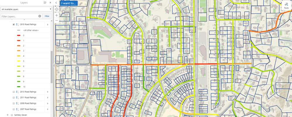 Road Condition Tracking in GIS