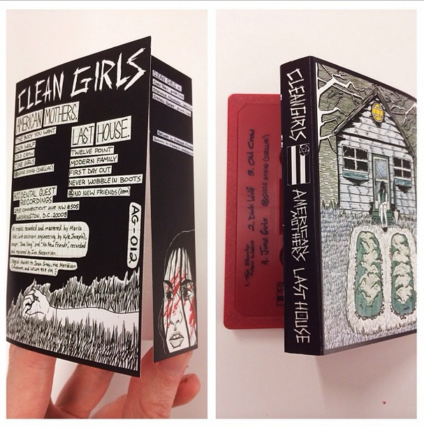 Clean Girls split cassette