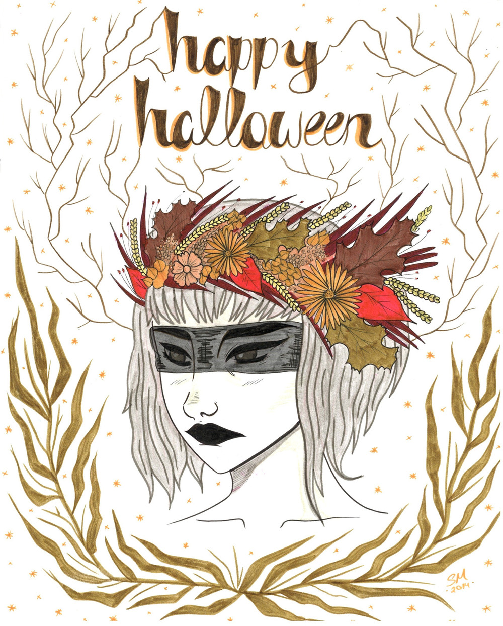 Halloween Card 2014