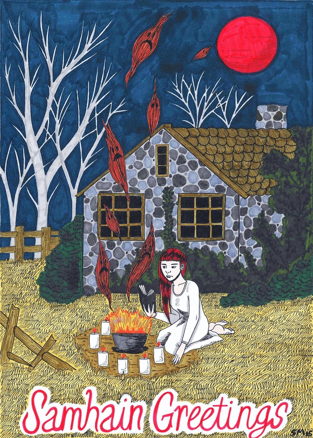 Halloween Card 2015