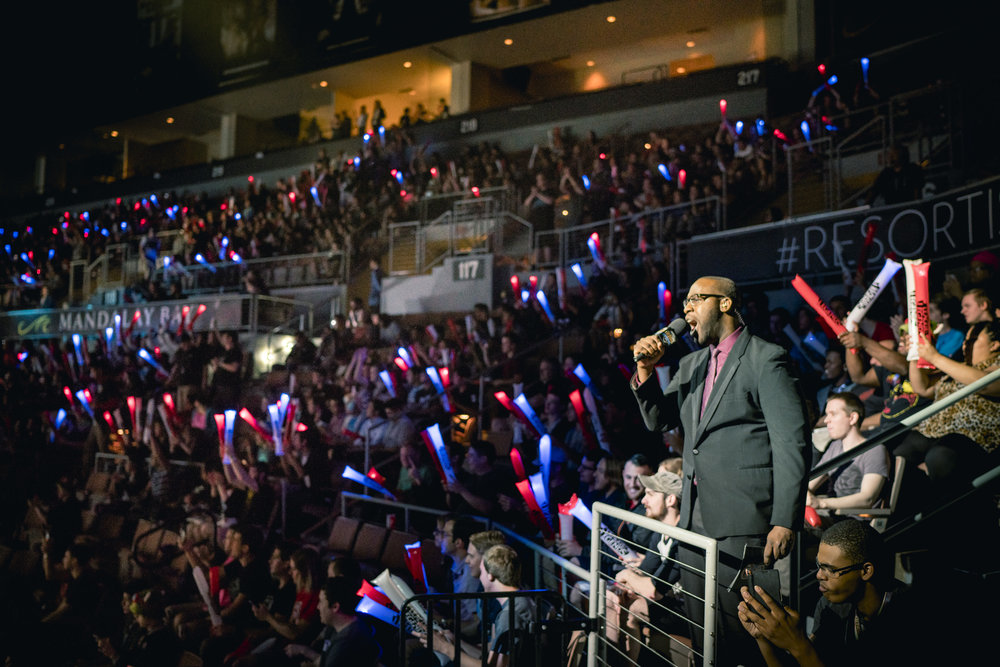 Announcing at LCS 2016 Spring Finals