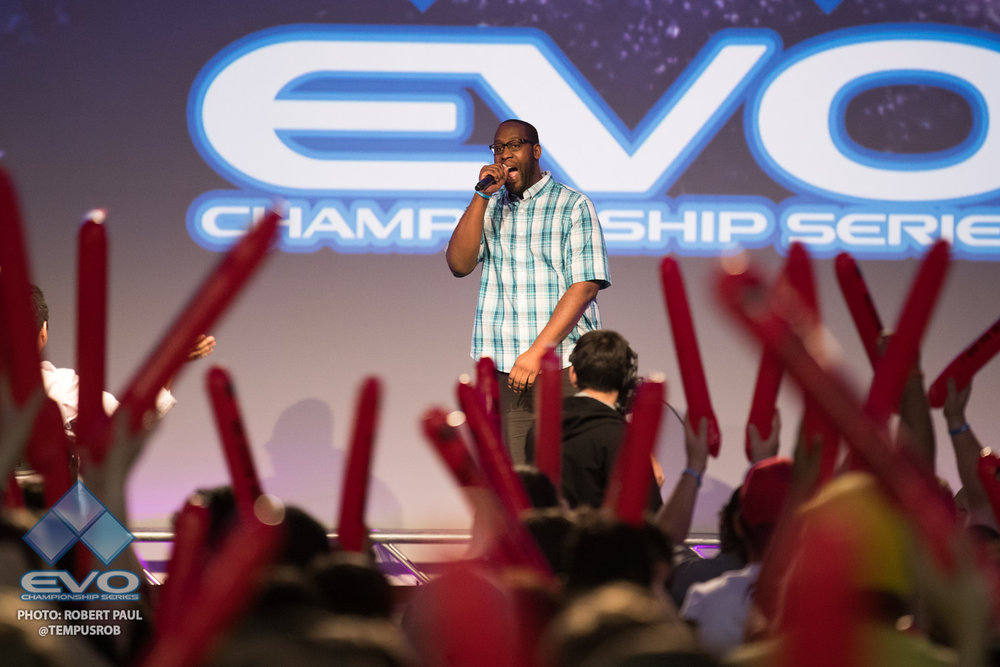 EVO 2017 - Announcing Guilty Gear Top 8