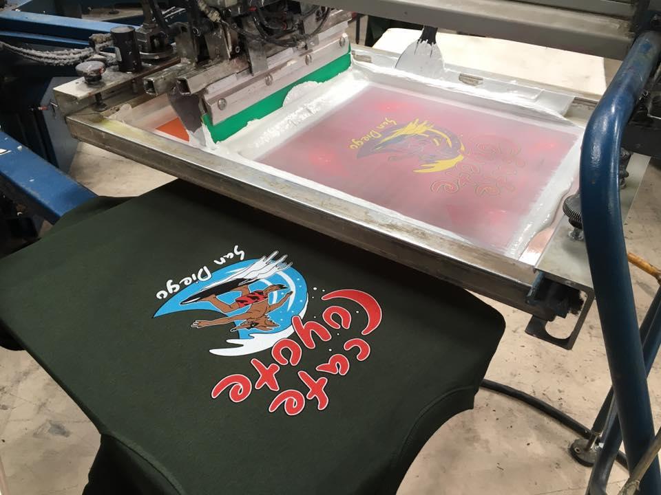 Screen Printing -