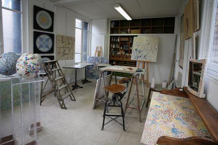 atelier de marie minhac, artiste mosaiste à Paris