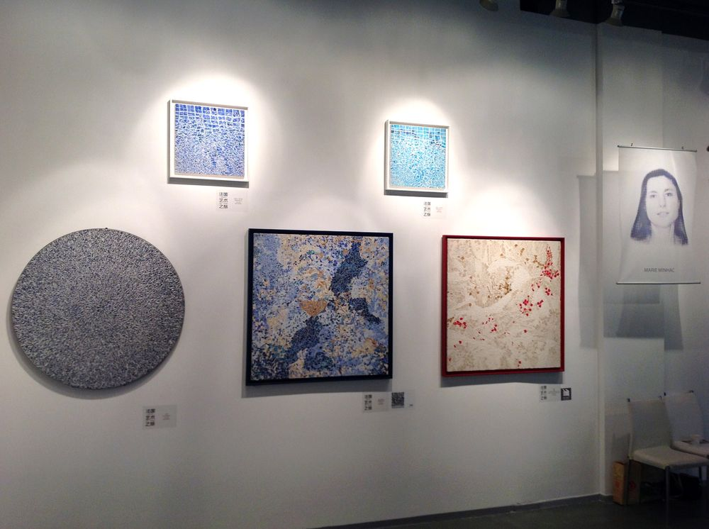 marie minhac expose au French Art Tour Shanghai 2014