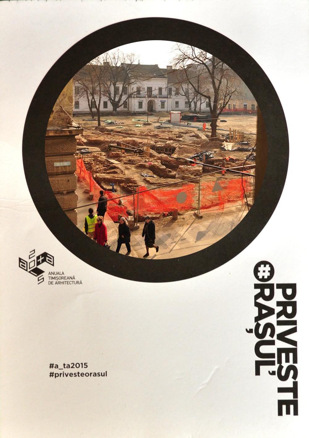 INV53 / Roxana Pătrulescu / mesaj:În 1752 băile turcești din Piața Paradei au fost acoperite ca urmare a dezvoltării înfloritoare a orașului. Oare în 2015 ce semnifică acoperirea lor?