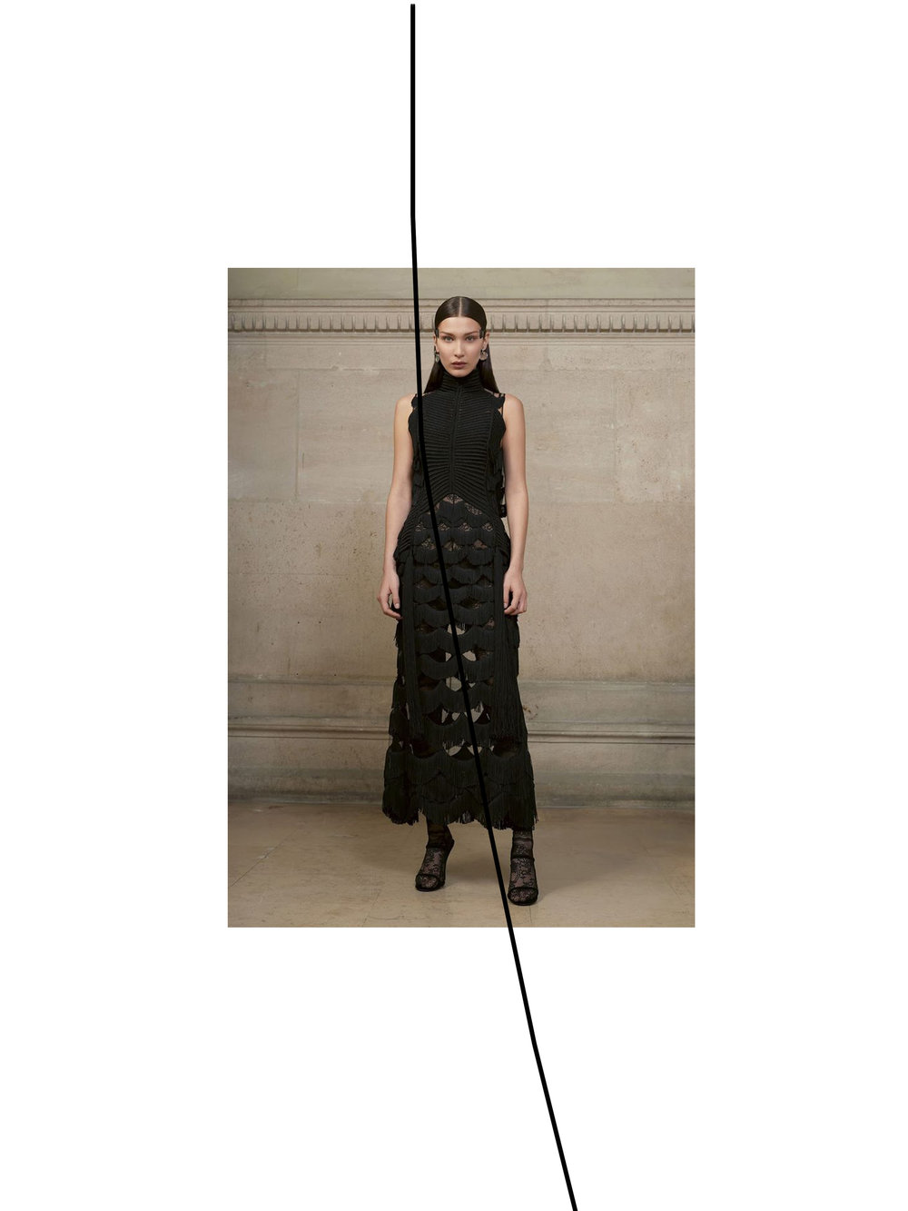 GIVENCHY COUTURE. PRIMAVER VERANO 2017. LOOK 13