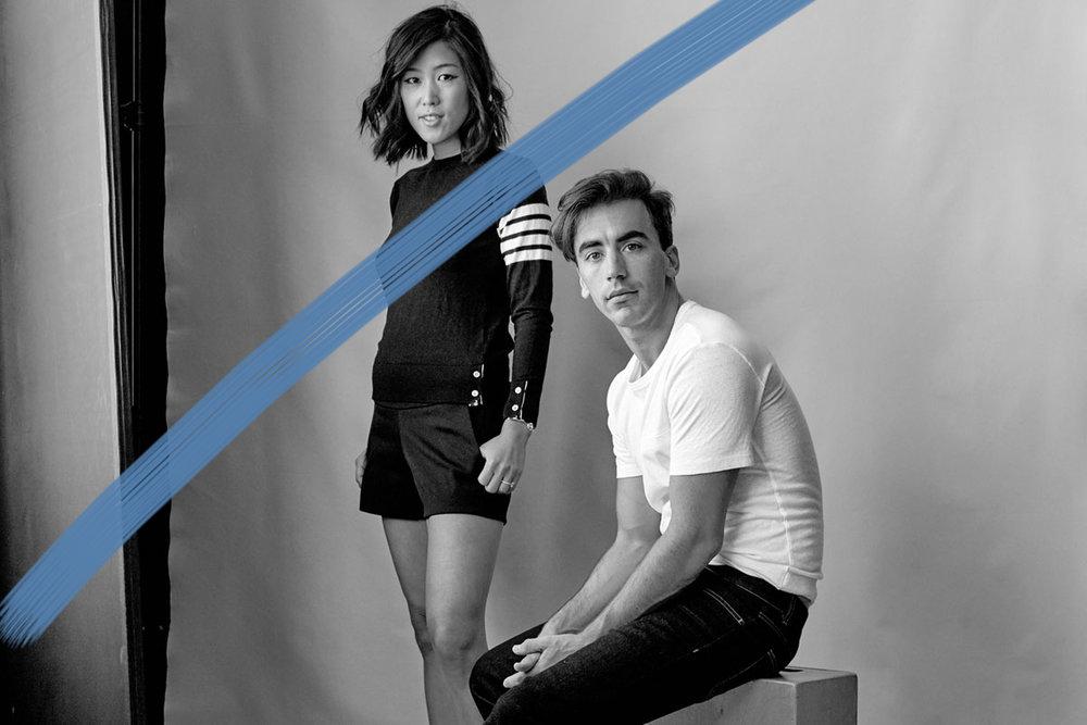 Fernando García y Laura Kim. Directores creativos de M O N S E y Oscar de la Renta.