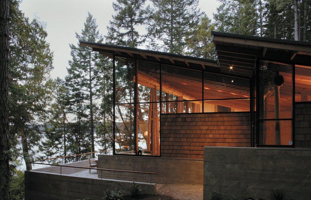 Harding long residence for Jim cutler architect