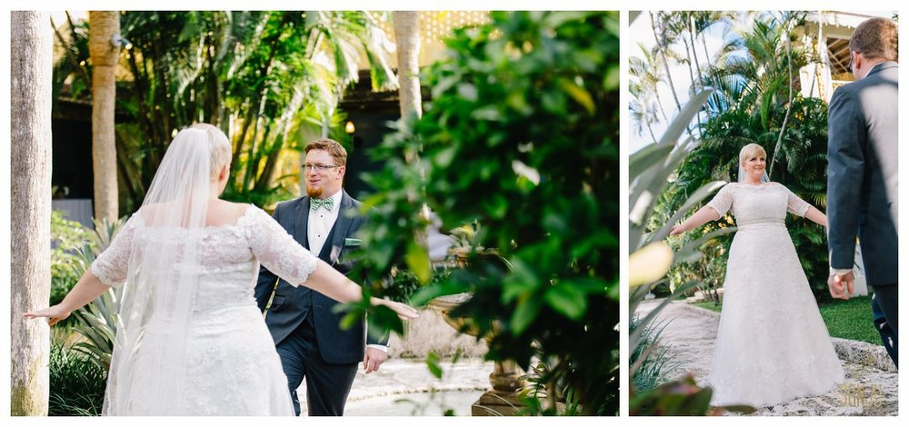 Wedding at the Bonnet House Fort Lauderdale Florida