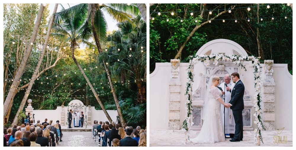 Best wedding photographer at the Bonnet House Fort Lauderdale Florida