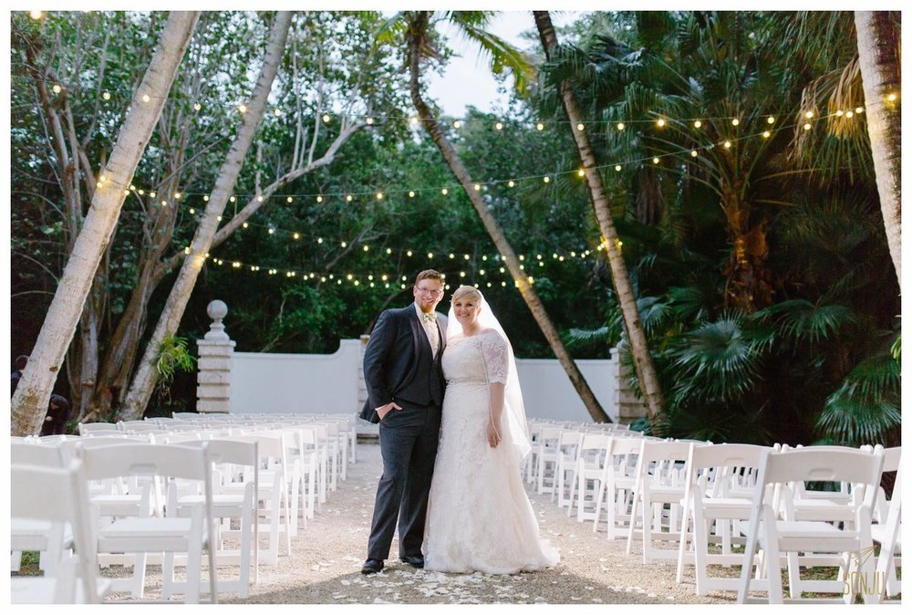 Wedding at the Bonnet House Fort Lauderdale Florida