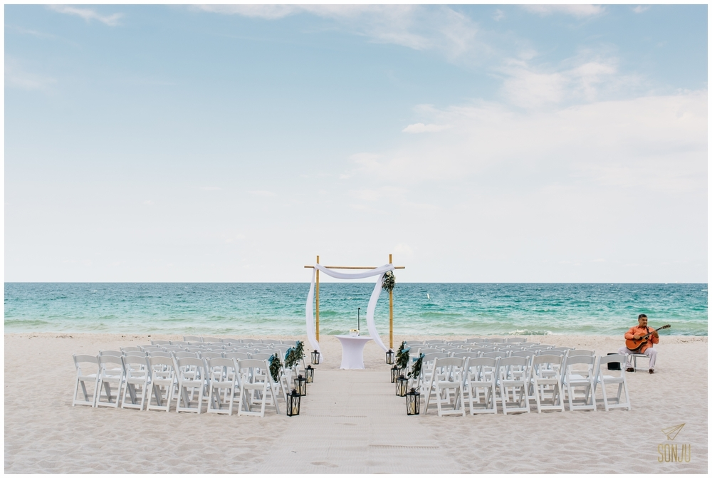 Pelican Grand Resort Fort Lauderdale Florida Beach wedding