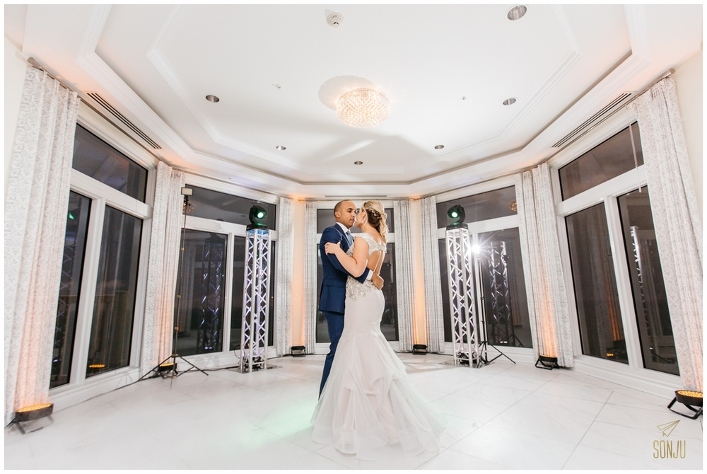 First dance at the Pelican Grand Resort Fort Lauderdale Florida