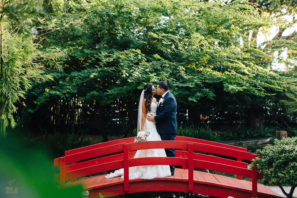 Stunning multicultural garden wedding at miami beach - Miami beach botanical garden wedding ...