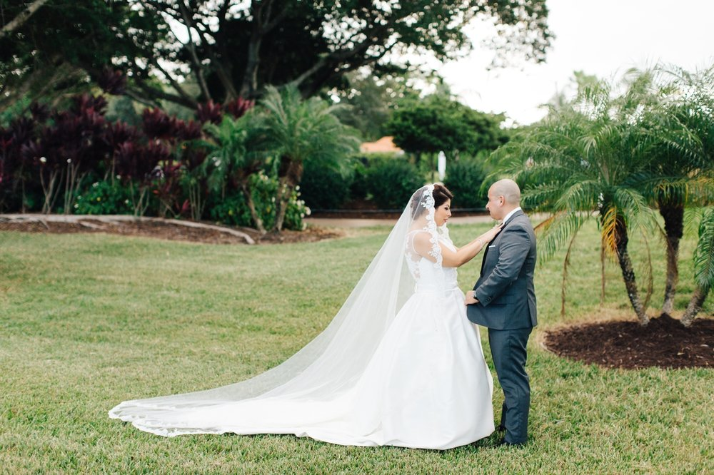 Jacaranda Country Club Wedding Plantation Florida