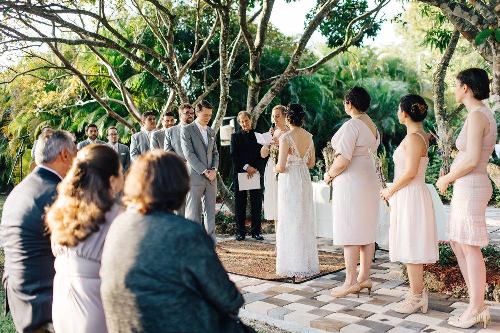Miami intimate wedding photography