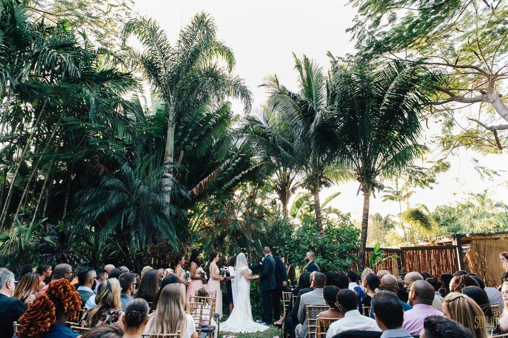 Bamboo Gallery Wedding Ceremony