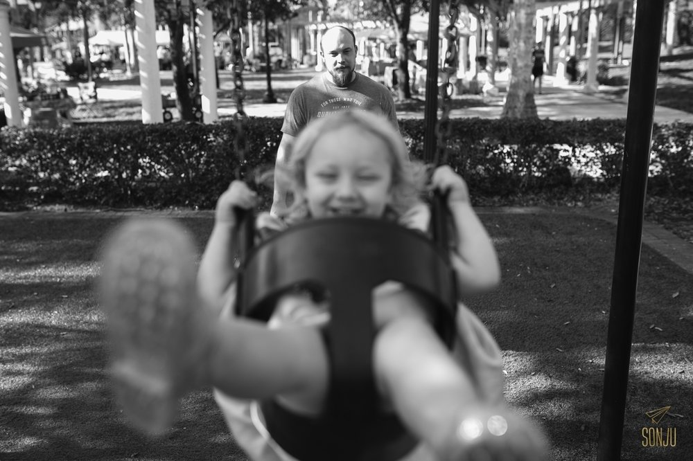 Documentary family photography in South Florida