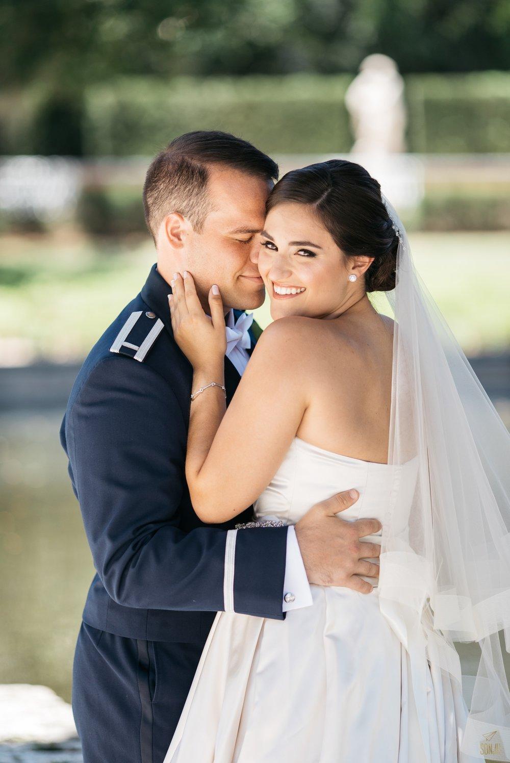South Florida wedding photographer Vizcaya