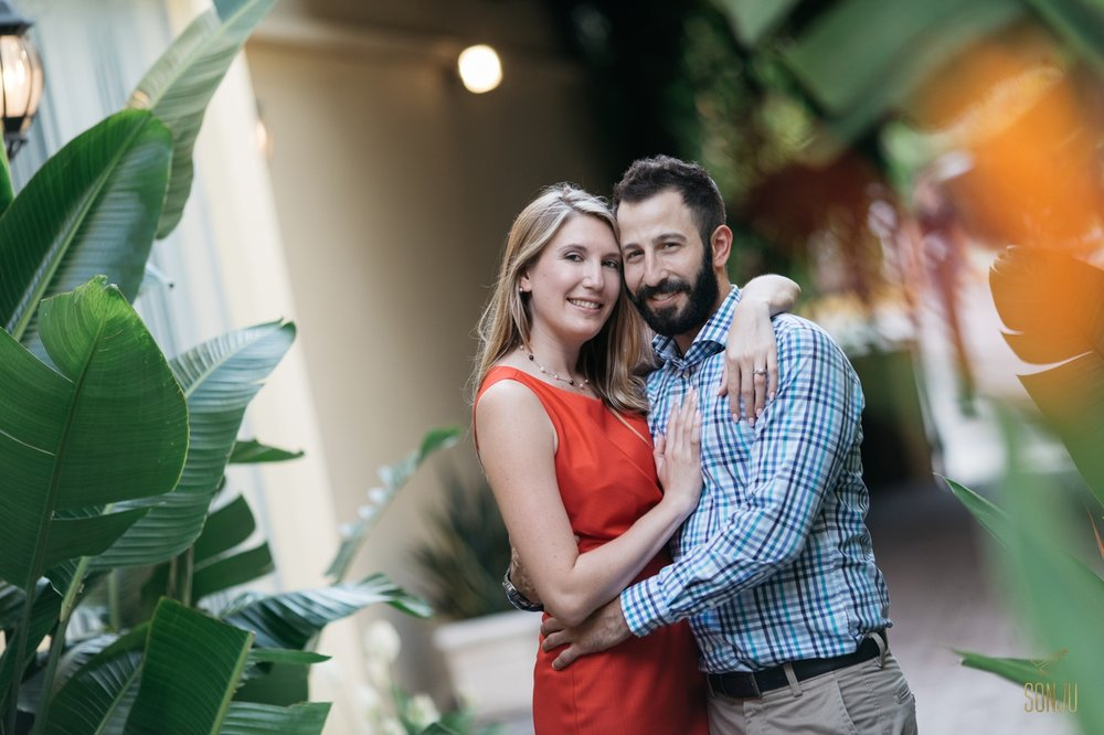 Las Olas engagement session