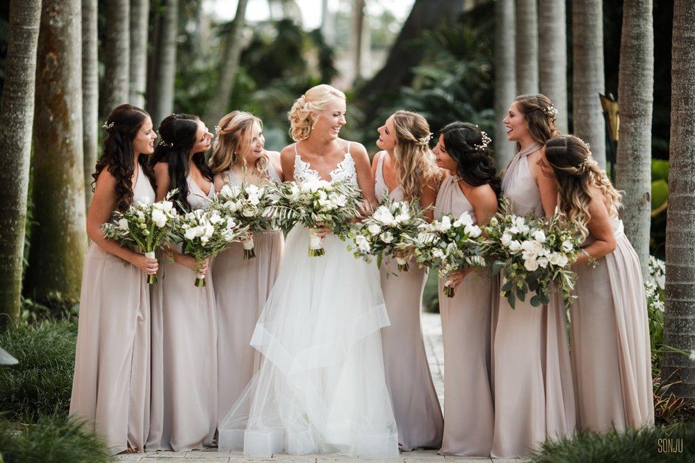 Bridesmaids at the Boca Raton Resort