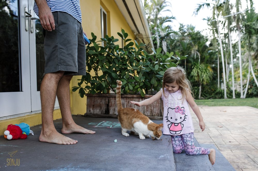 Documentary family sessions in South Florida