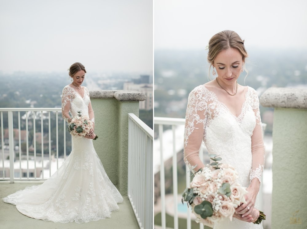 South Florida wedding photographer at Riverside Hotel