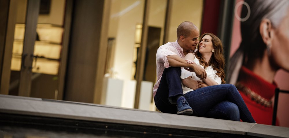 Engagement sessions are an awesome way to