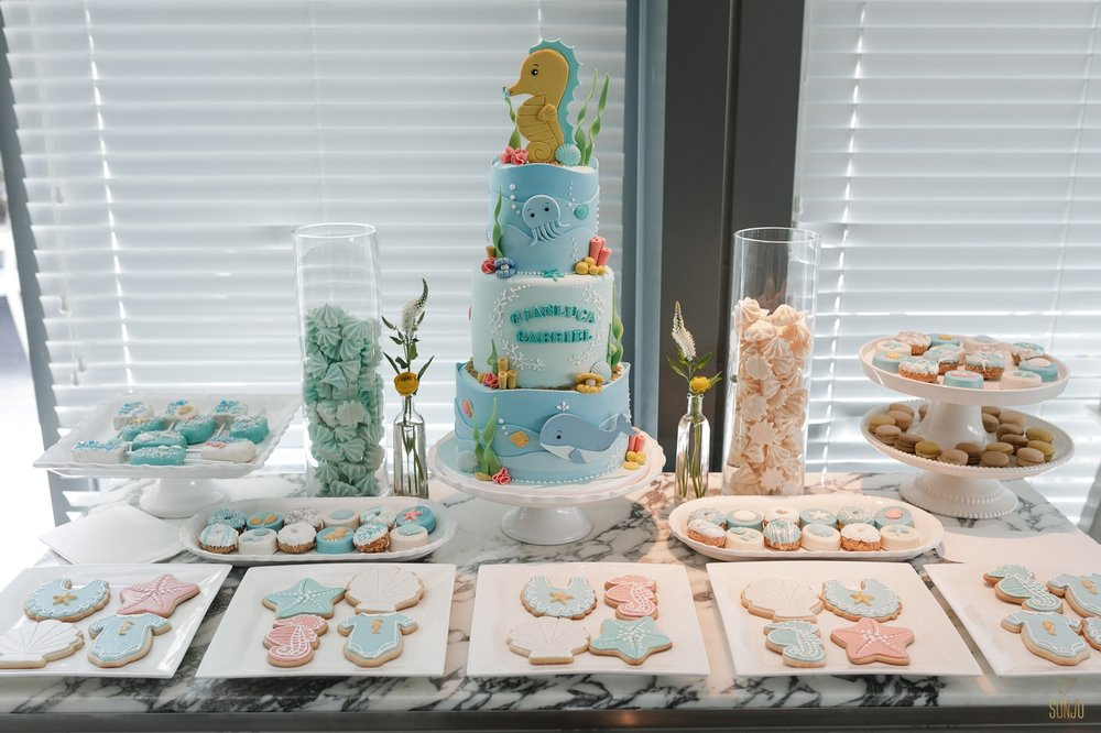 miami-baby-shower-dessert-table