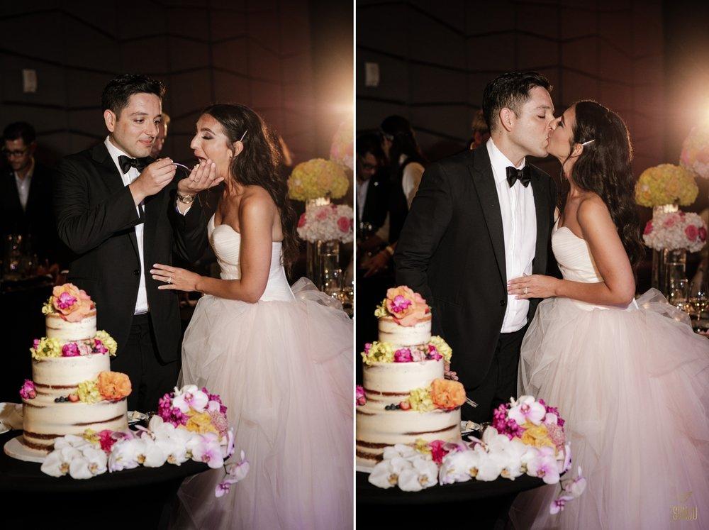 Cake-cutting-W-Fort-Lauderdale-Wedding