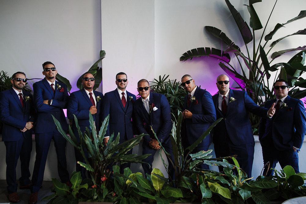 Miami-Wedding-Photographer-Coral-Gables-Venue-Groom-Group-Shot