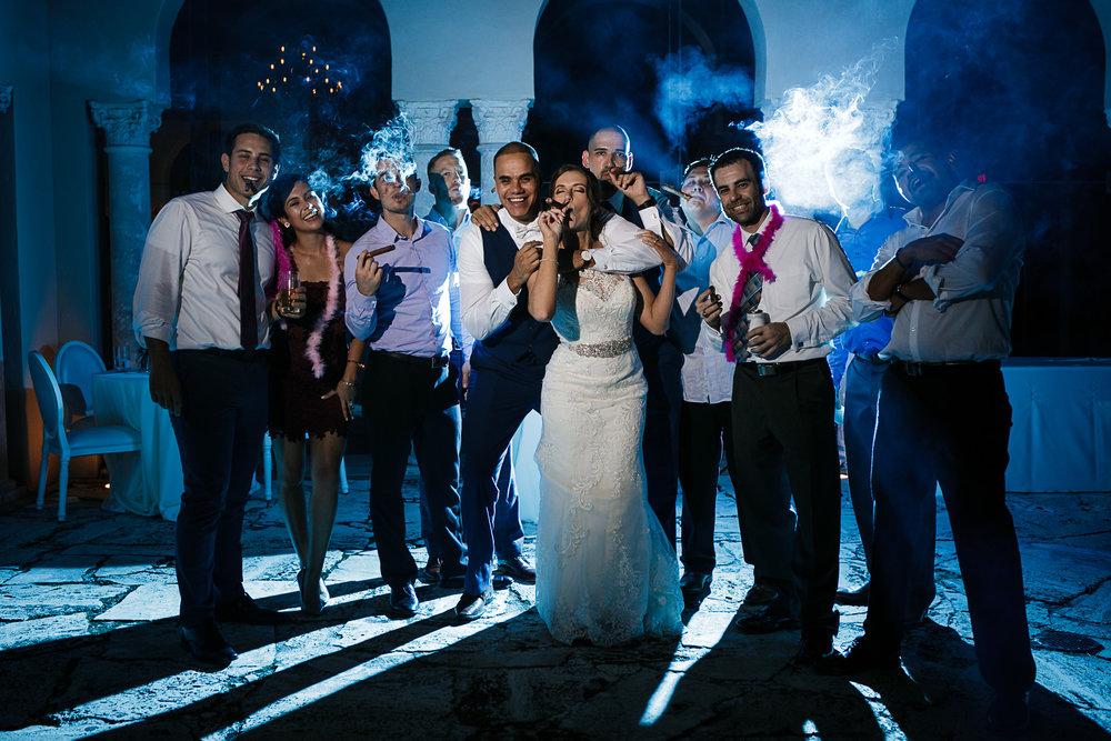 Miami-Wedding-Photographer-Coral-Gables-Venue-Cigar-Night-Shot