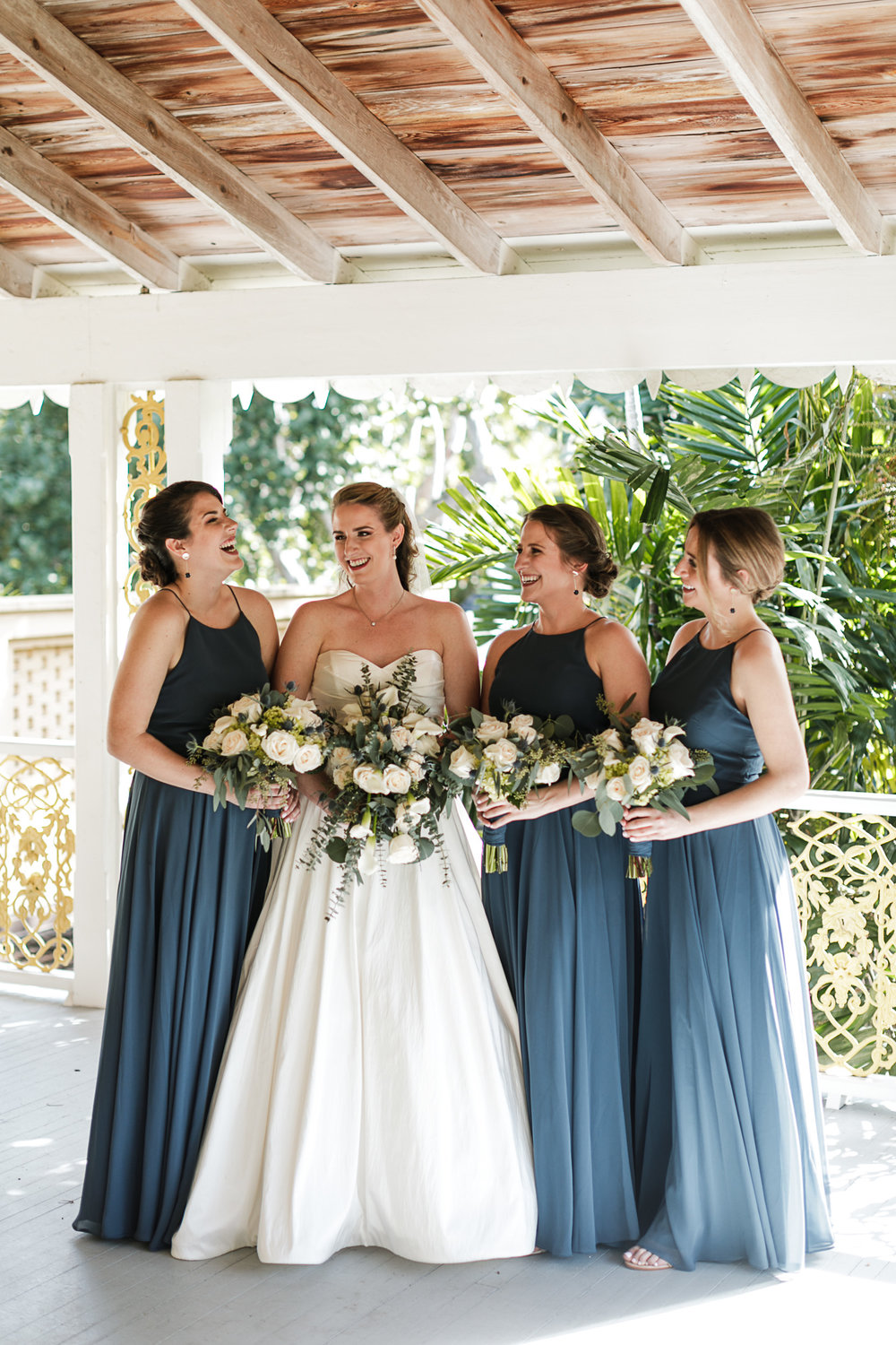 Fort-Lauderdale-Wedding-Photographer-Bonnet-House-Bridesmaids