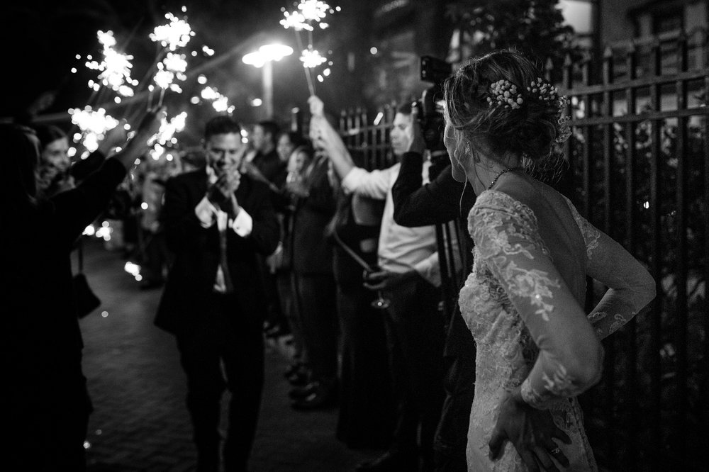 Sparkler-exit-fort-lauderdale-weddding-photography