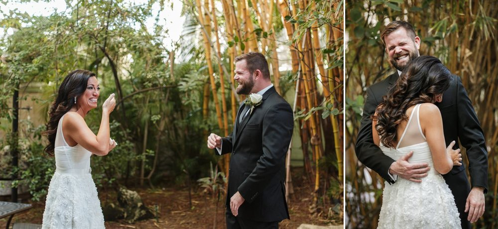 First-Look-reactions-Riverside-Hotel-Fort-Lauderdale-Wedding-Photographer