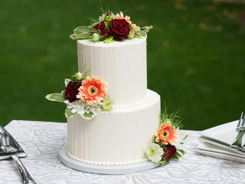 9in Tiered Summer Wedding