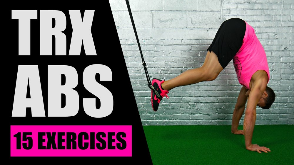 TRX abs exercises
