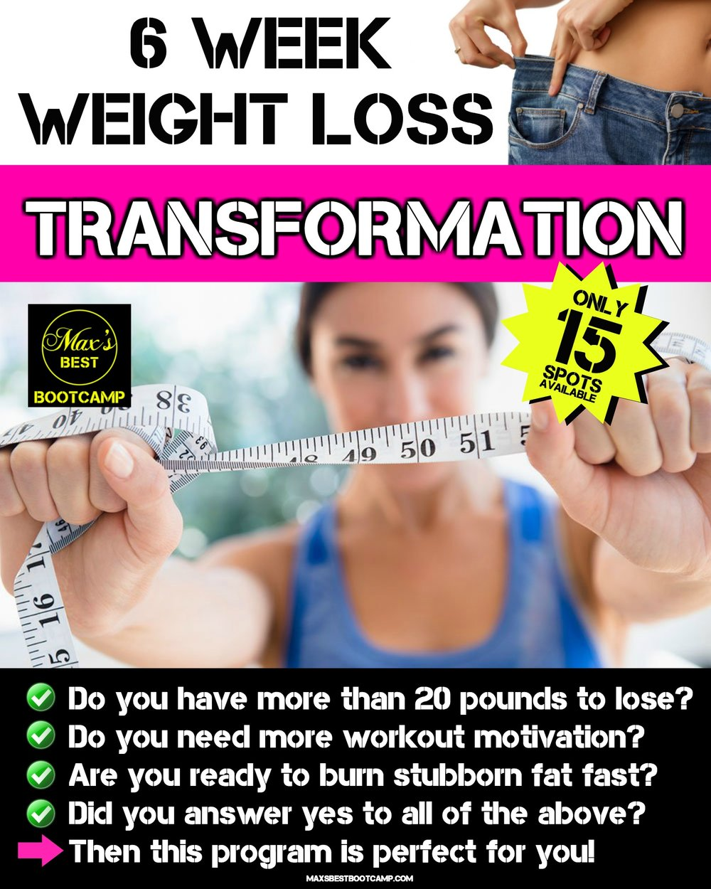6 week weight loss transformation challenge page 1