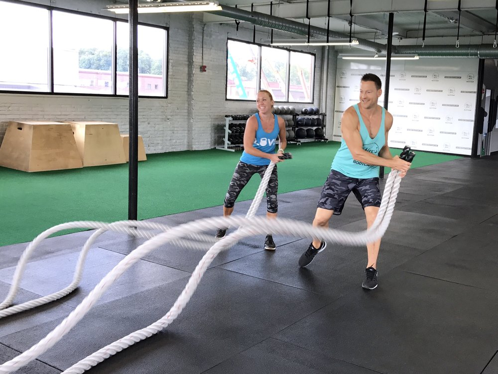 battle ropes exercises abs
